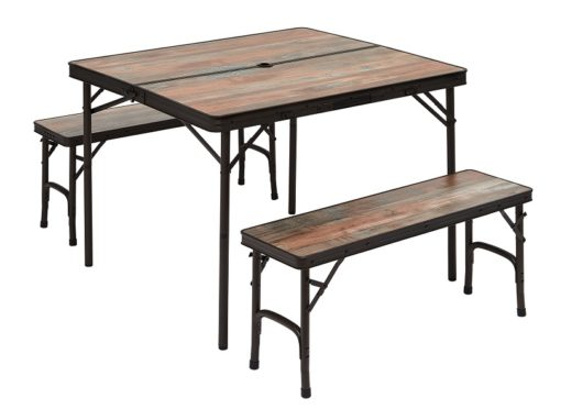 TABLE + 2 BANCS INTEGRES